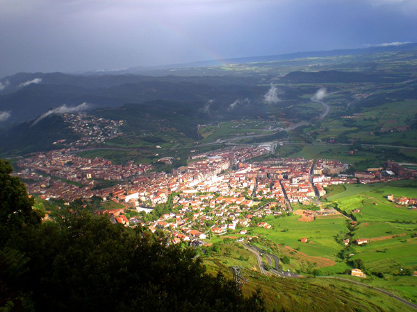 Berga en autocaravana, un rincón del pirineo catalán