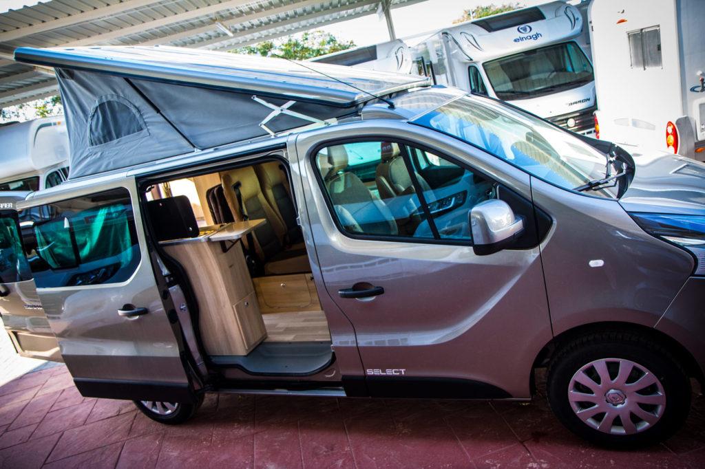 Alquiler furgo camper Dreamer Mirande S Select en Valencia