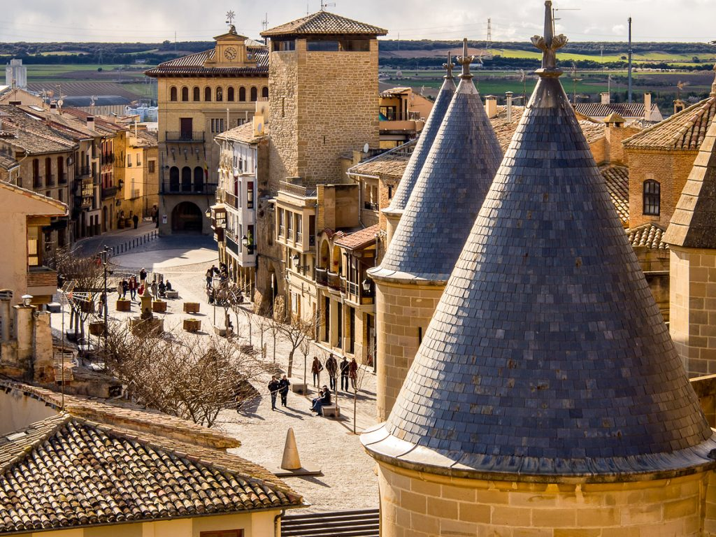Plaza del Ayuntamiento en Olite