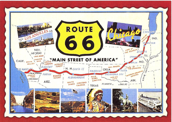 Ruta 66 en autocaravana