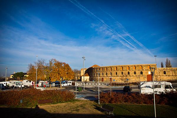 Parking de autocaravanas en Segovia