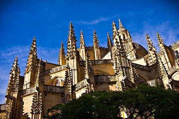 Catedral de Santa María en Segovia
