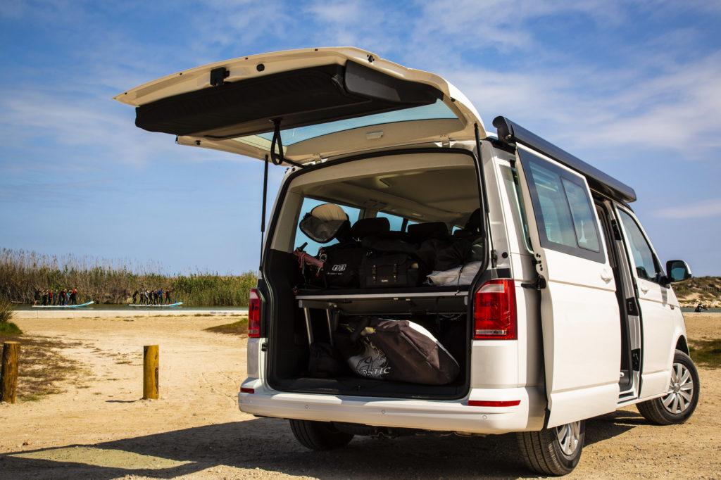 Alquiler de Volkswagen California Beach en Caravanas Osito y Osito Camper Van